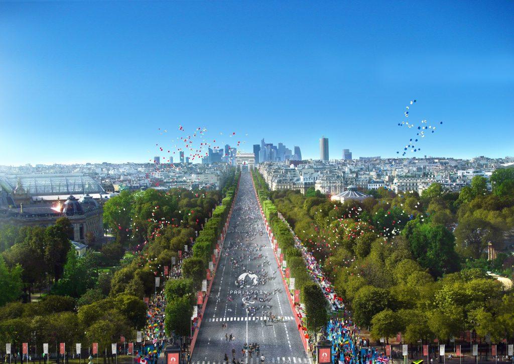 Célébration Champs Elysée La Défense