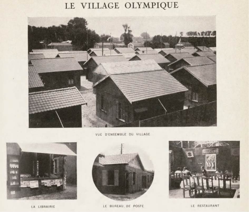 Le Village olympique de Colombes